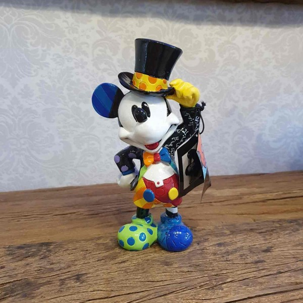 Mickey Maus mit Zylinder