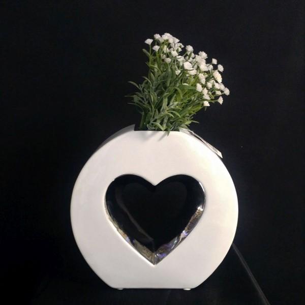 Vase mit Herz