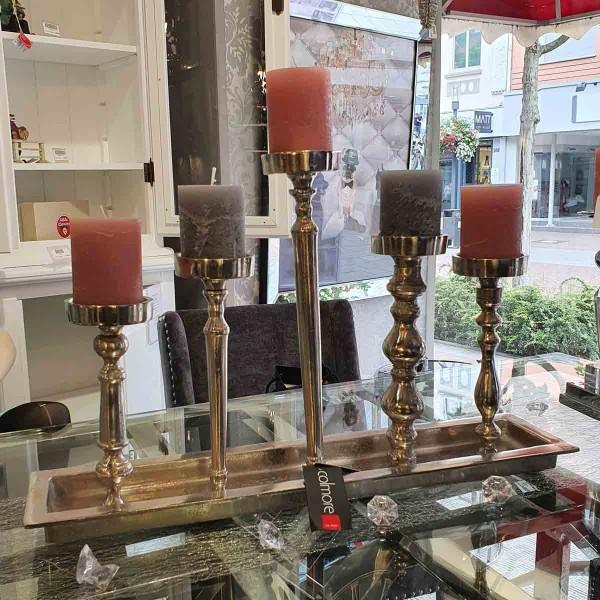 Tischleuchter mit fünf Kerzenhalter
