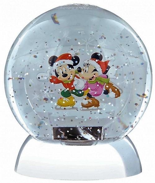 Wasserkugel mit Mickey und Minnie