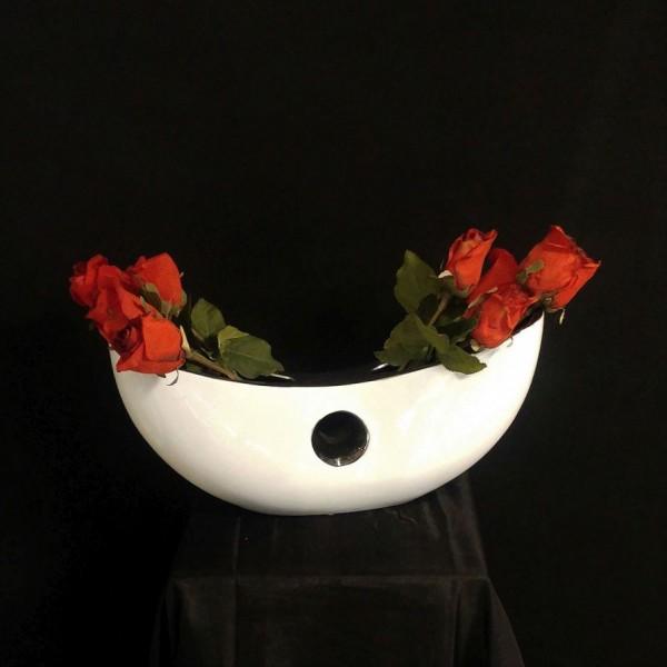 Vase mit 2 Steckmöglichkeiten