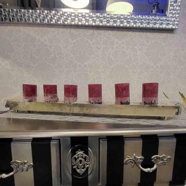 Tisch Schale Kerzenleuchter