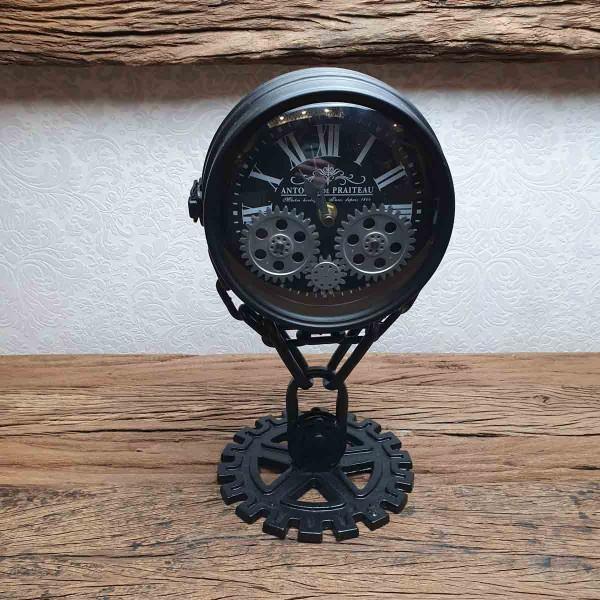 Zahnrad Tisch-Uhr