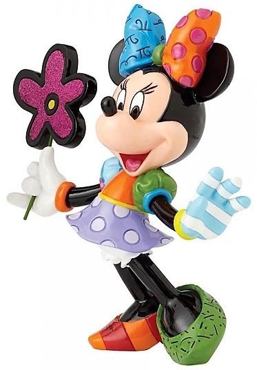 Minnie mit Blumen