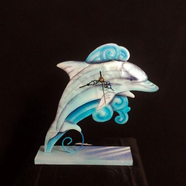 Uhr Delphin