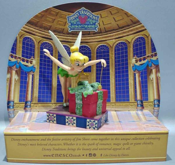Tinker Bell mit Geschenk